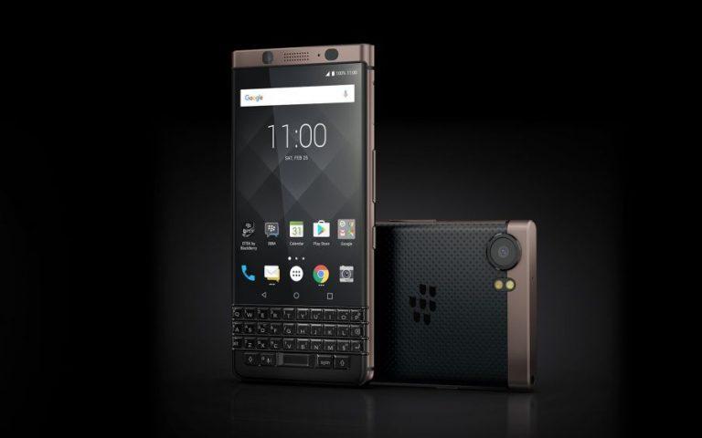 Lancar dua peranti baru azam Blackberry bagi tahun 2018