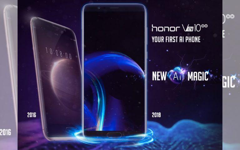 Honor View 10 tiba di Malaysia lebih awal dari jadual asal