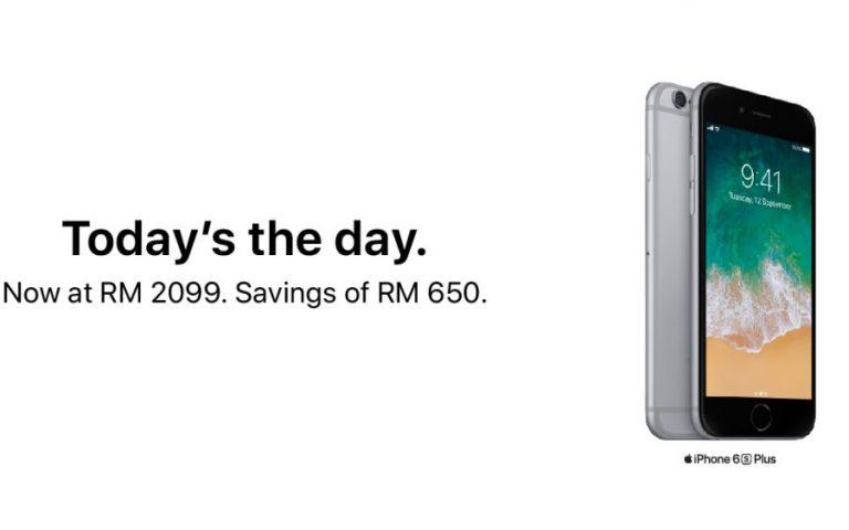 Diskaun RM650 untuk iPhone 6S Plus hanya di sini