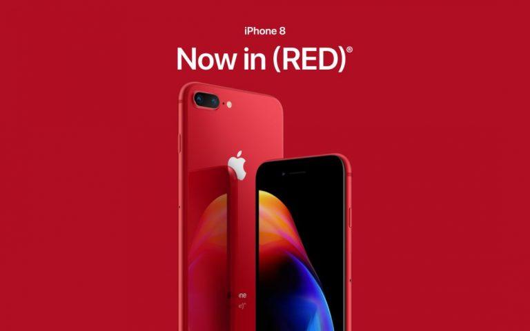 iPhone 8 (RED) terhasil selepas Apple mendengar saranan rakyat