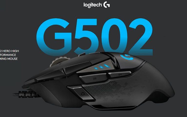Logitech G502 diimplan jantung baru HERO