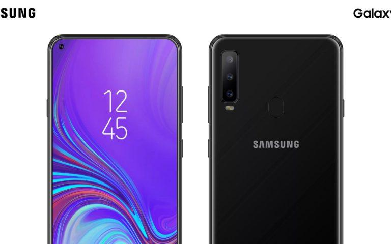 Galaxy A8s Mungkin Tampil Dengan Rekaan Notch Terapung