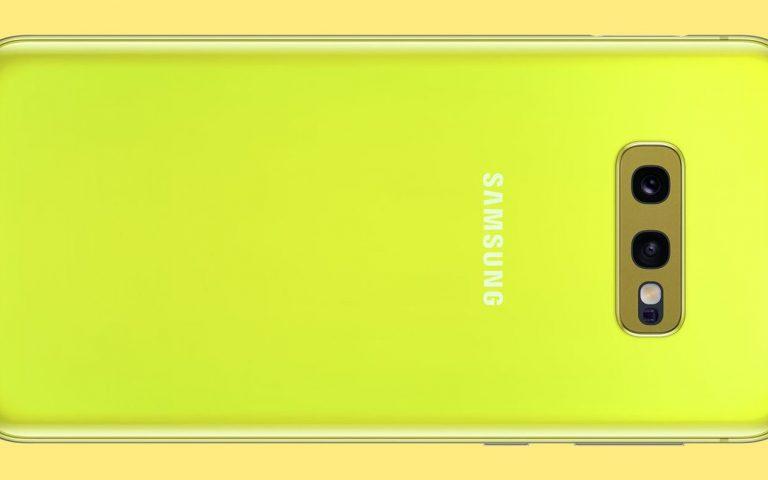 Warna burung kenari ini eksklusif untuk Galaxy S10e