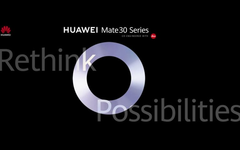 Huawei mula muat naik petunjuk berkaitan Mate 30