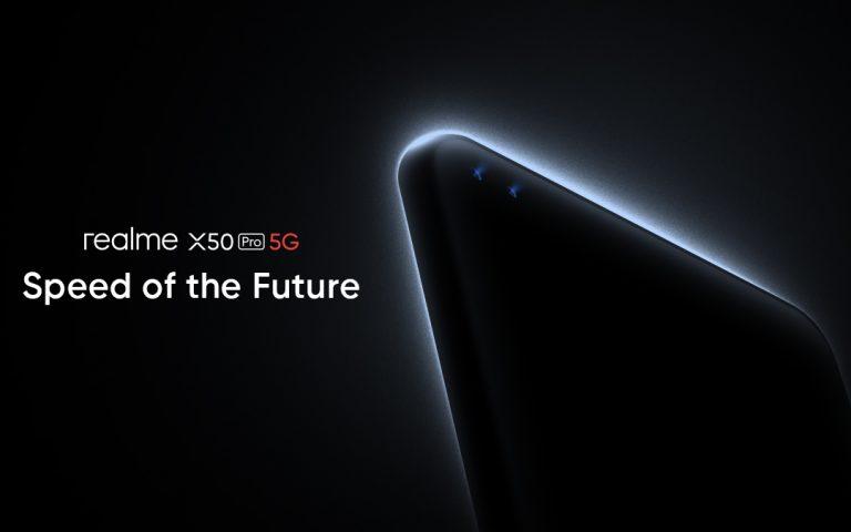 Realme teruskan pelancaran X50 Pro 5G pada 24 Februari di lokasi berbeza
