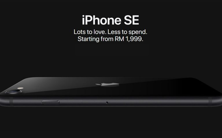 iPhone SE 2020 akan mula dijual di Malaysia pada 11 Mei